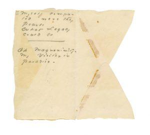 Emily Dickinson Envelope 2